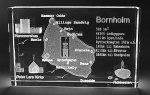 Bornholm med fakta 3 x 8 x 13 cm